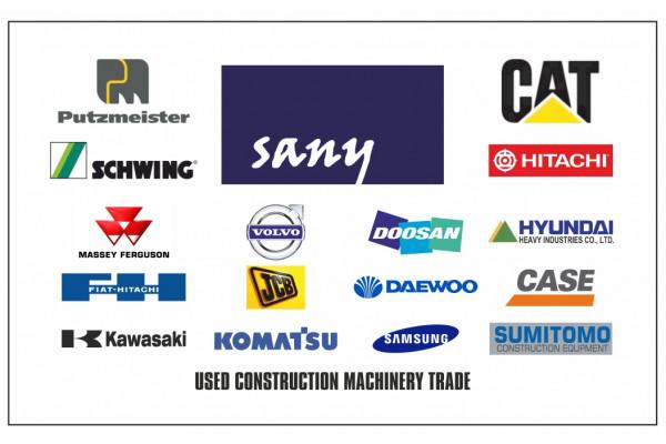 SANY MACHINERY, USED EQUIPMENT