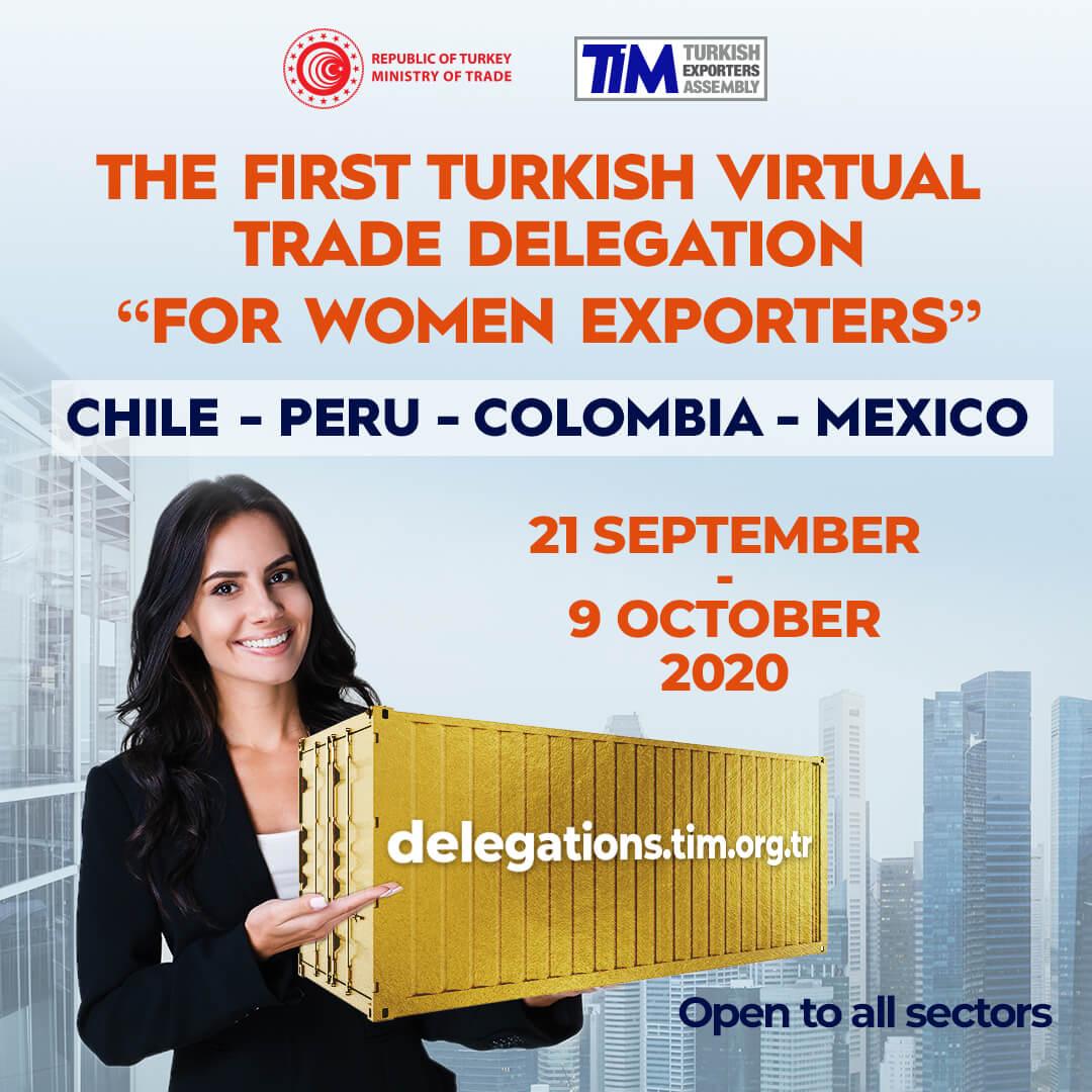 Chile, Peru, Colombia, Mexico Virtual Trade Delegation