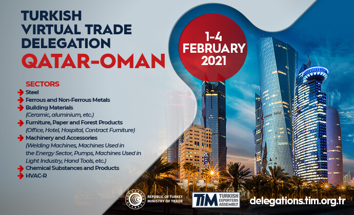 Qatar - Oman Virtual Trade Delegation