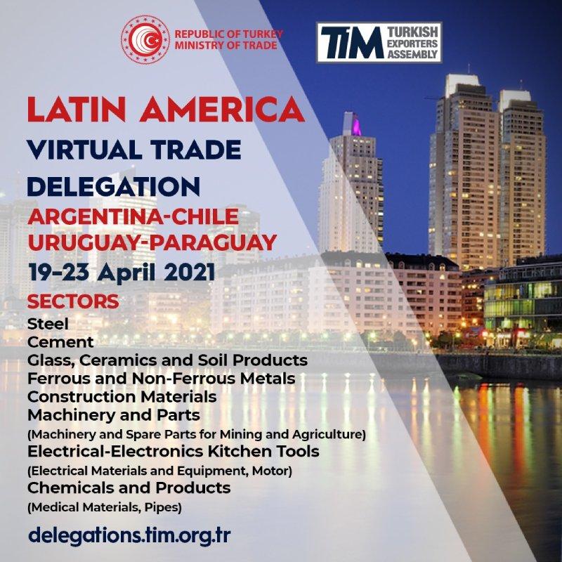 Latin America (Argentina, Chile, Uruguay, Paraguay) Virtual Trade Delegation