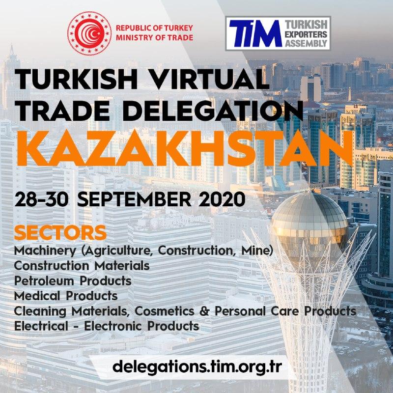 Kazakhstan Virtual Trade Delegation