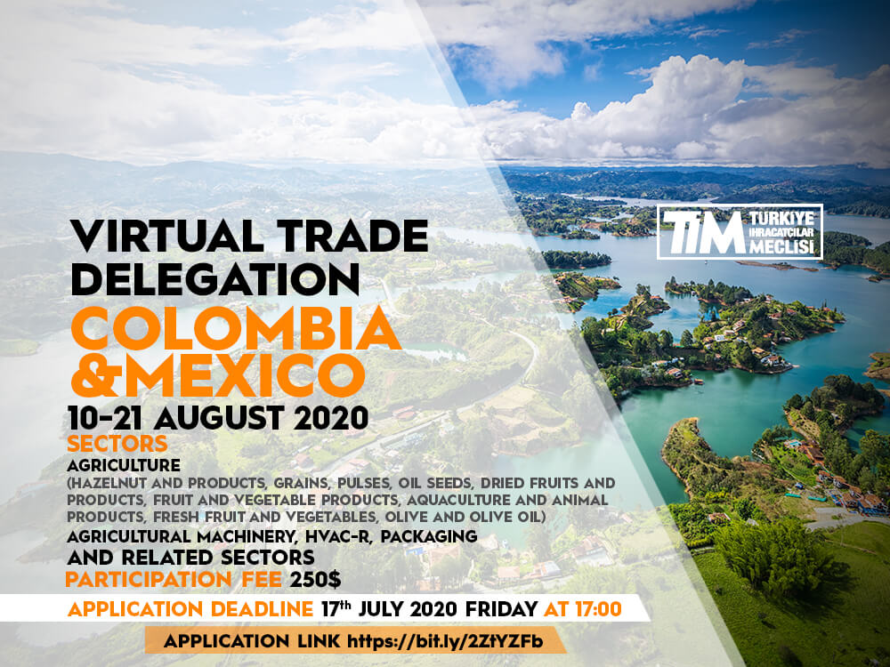 Colombia - Mexico Virtual Trade Delegation
