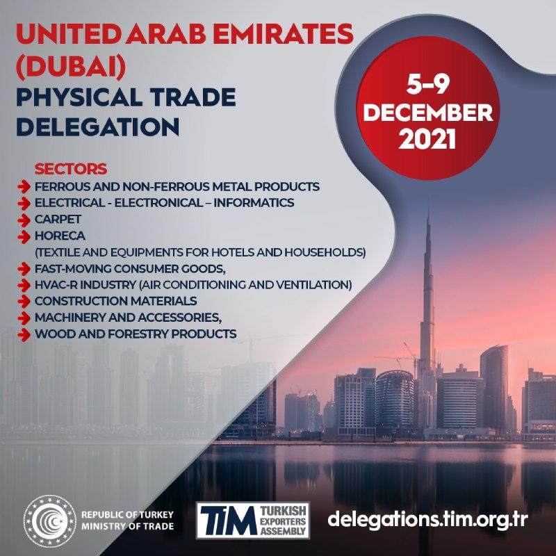 United Arab Emirates (Dubai) Trade Delegation
